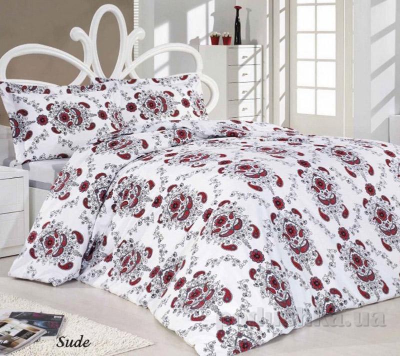 Комплект постельного белья Classi Senelde Sude Arya 1000328 красный