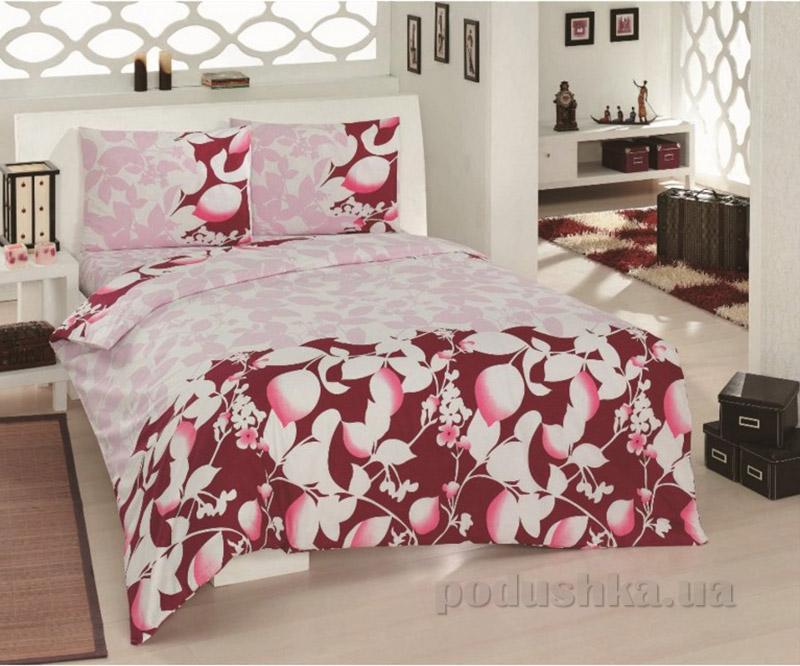 Комплект постельного белья Classi Sofia Arya красный
