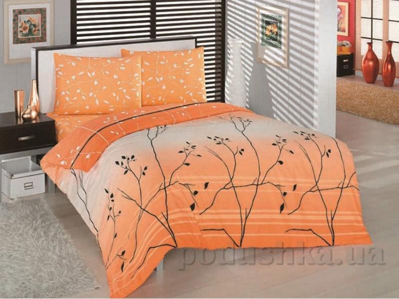 Комплект постельного белья Classi Violet Arya оранжевый