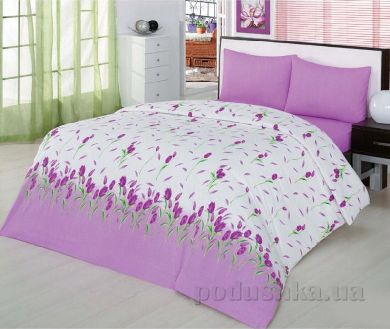 Комплект постельного белья Classi Yasmin Arya 1000857 сиреневый