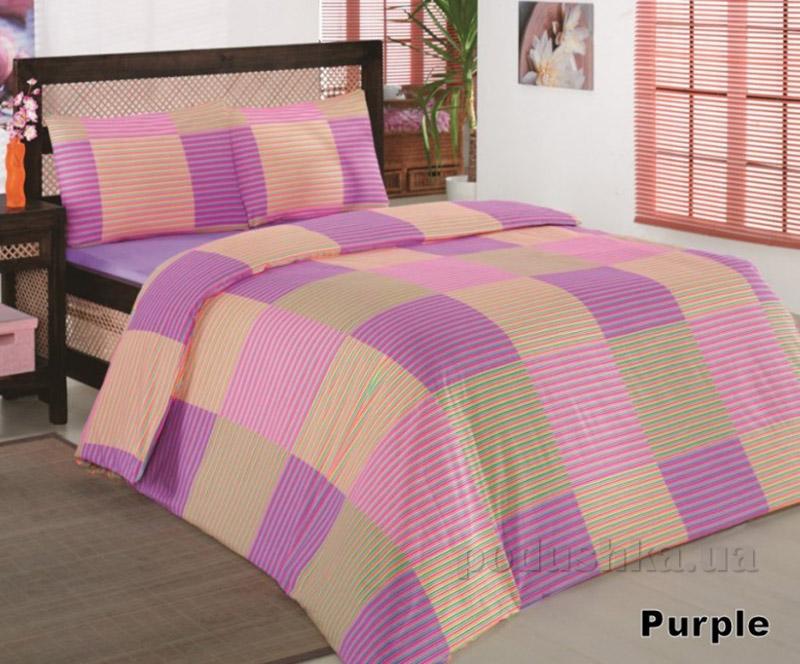 Комплект постельного белья Classi Zena Arya 1000335 сиреневый