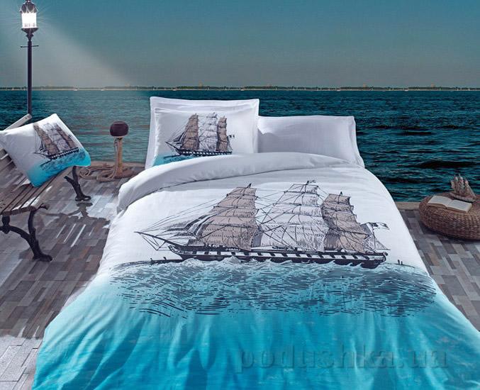 Постельное белье Cotton Box Ship Mavi