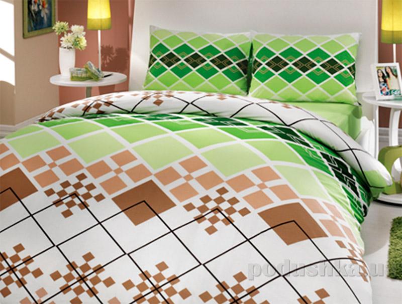 Постельное белье Hobby Destina зеленый