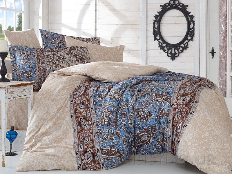Комплект постельного белья Hobby Exclusive Sateen Caterina бежевый