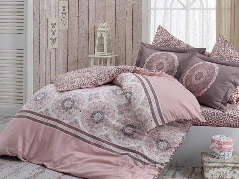 Комплект постельного белья Hobby Exclusive Sateen Silvana пудра