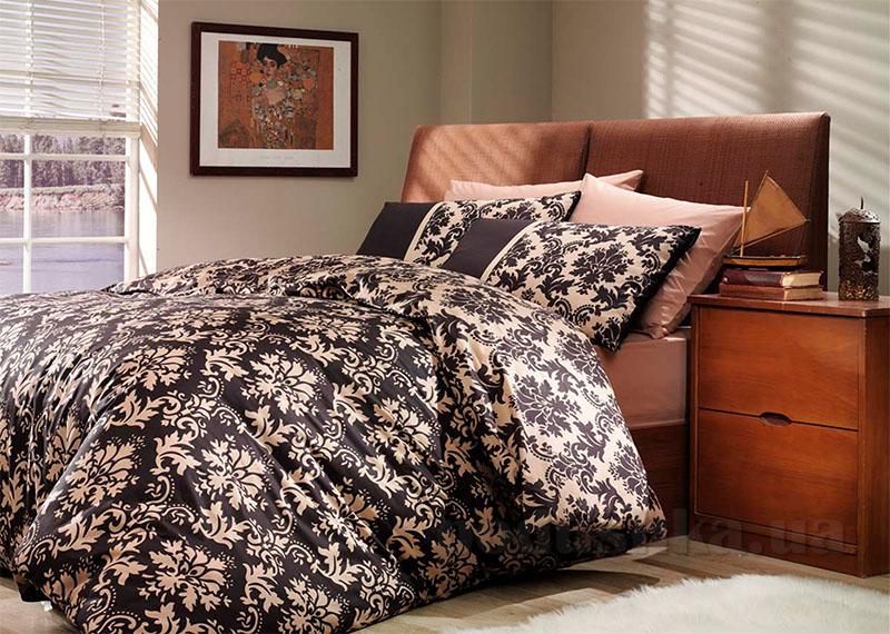 Постельное белье Hobby Poplin Avangarde коричневый