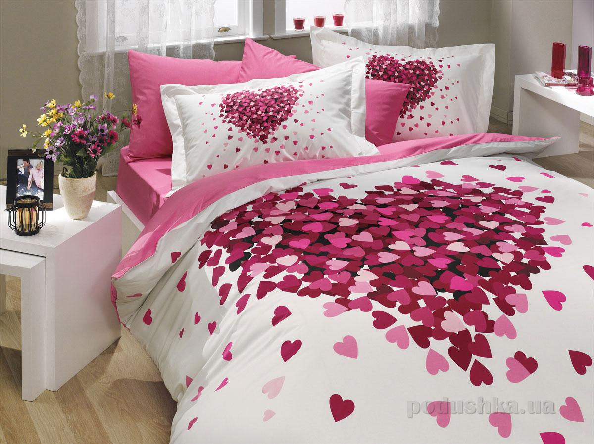 Постельное белье Hobby Poplin Juana розовое