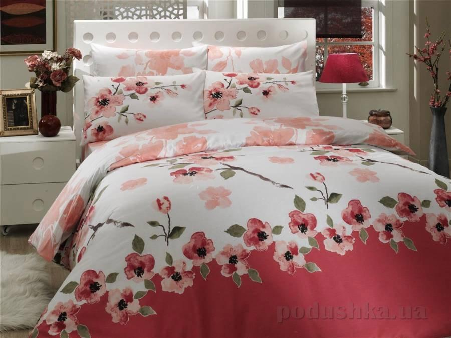 Комплект постельного белья Hobby Ranforce Rosalinda розовый