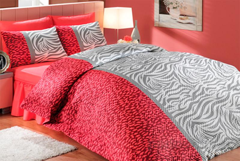 Постельное белье Hobby Virginia красный