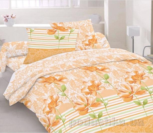 Постельное белье Home line Фрезия персиковый