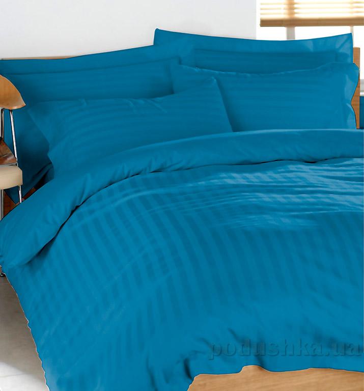 Постельное белье из страйп-сатина Terry Lux Blue