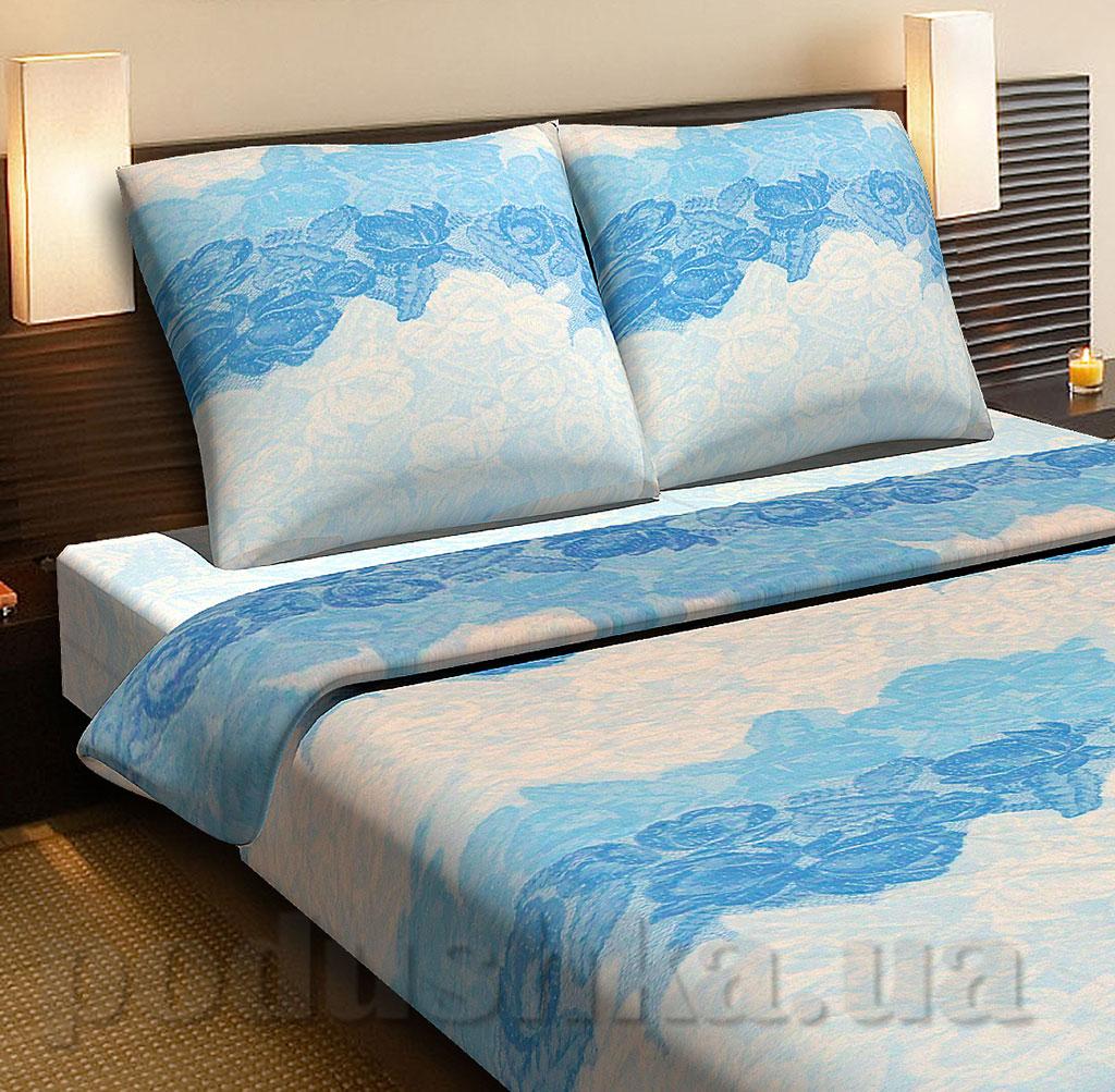 Постельное белье Top Dreams Голубые кружева