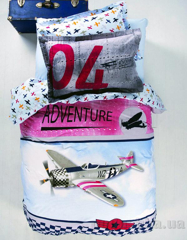 Постельное белье Karaca Adventure Полуторный комплект пике Karaca home
