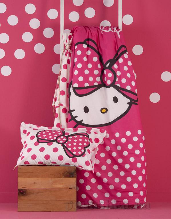 Постельное белье Karaca Hello Kitty happy