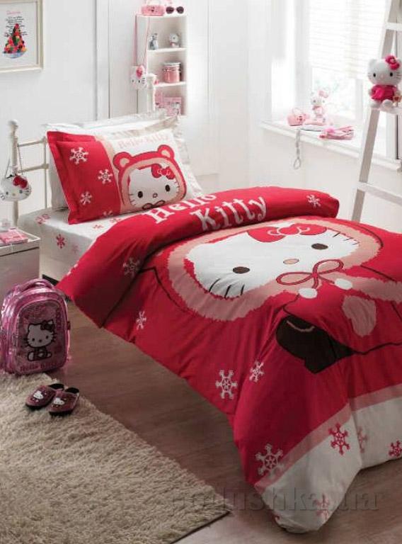 Постельное белье Karaca Hello Kitty red