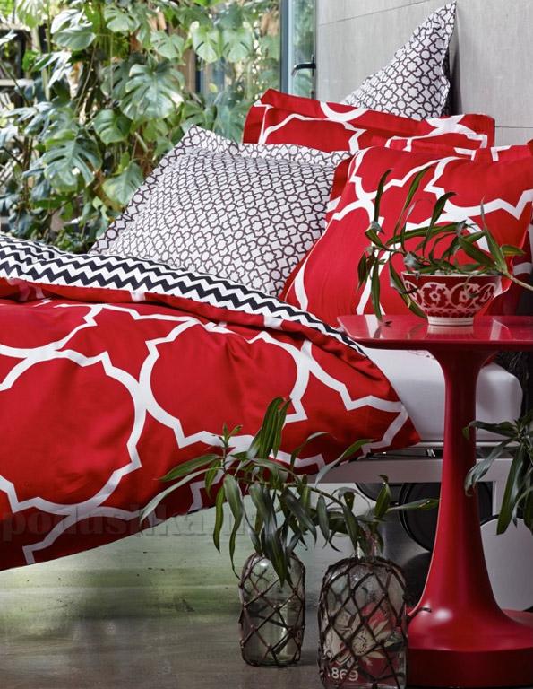 Постельное белье Karaca Mia красный