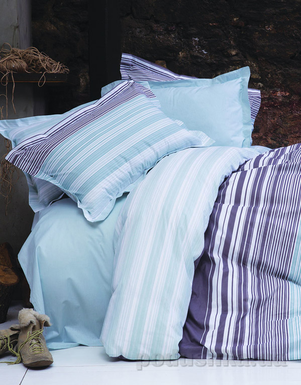 Постельное белье Karaca Nolan голубой