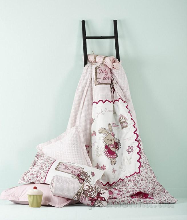Постельное белье Karaca Pink country розовый