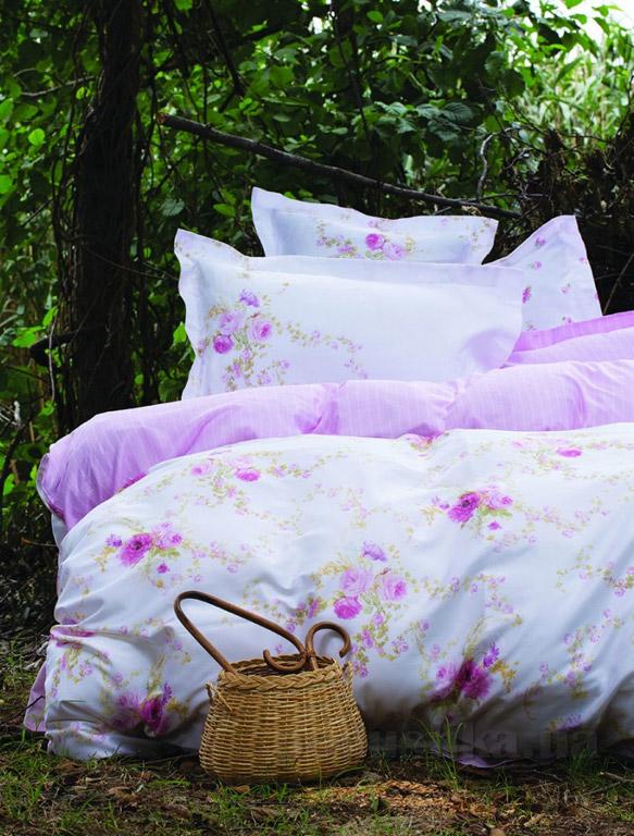 Постельное белье Karaca Tiny розовый Двуспальный евро комплект  Karaca home