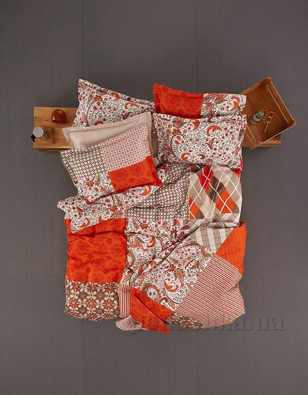 Постельное белье Karaca Vera оранжевый