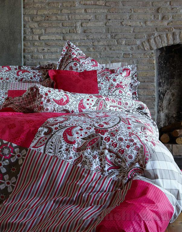Постельное белье Karaca Vera розовый