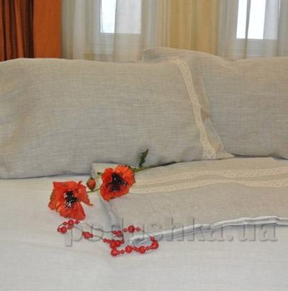 Комплект постельного белья Хэппи лен из двухцветного льна