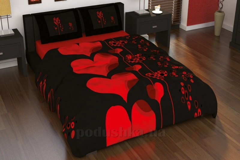 Постельное белье Kristal Amour V06 красный