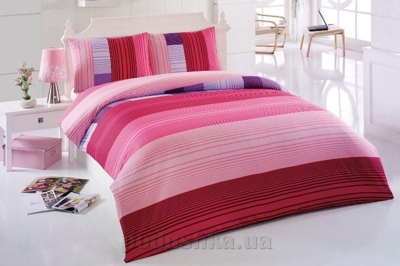 Постельное белье Kristal Ege V05 розовый