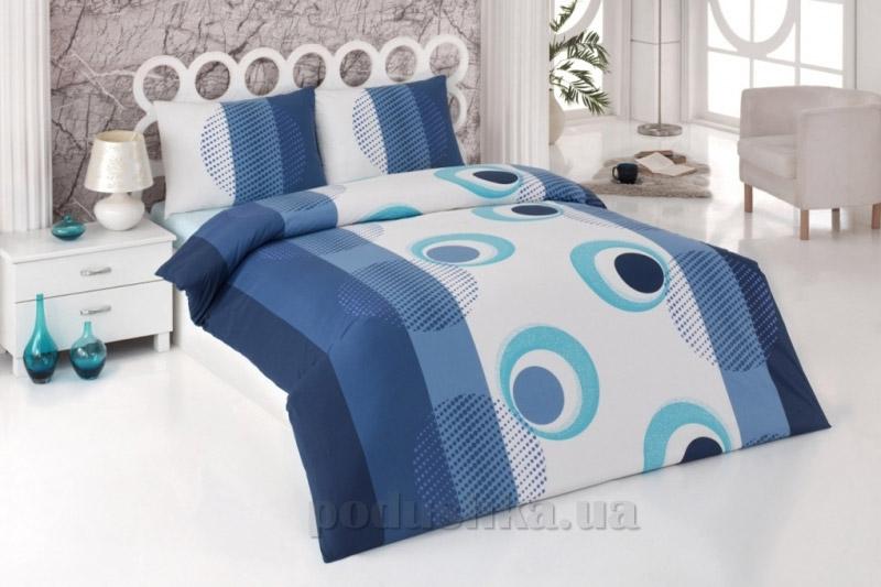 Постельное белье Kristal Nazar V04 голубой