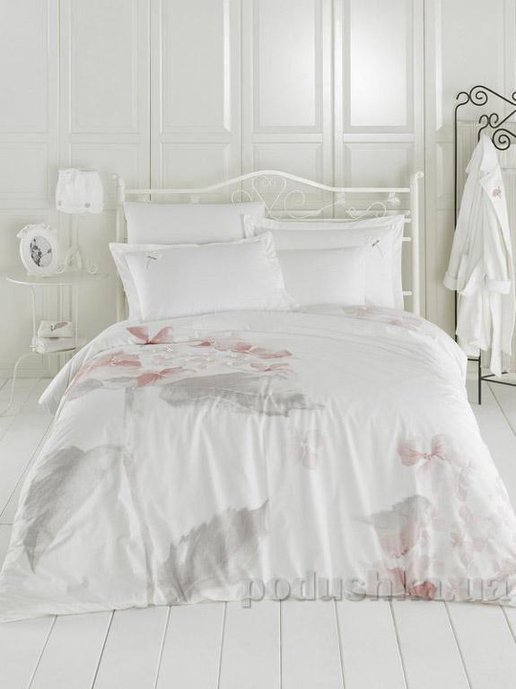 Постельное белье Ladinne Linda ecru-pink