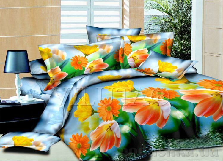 Комплект постельного белья Летний 207 Вилюта поплин