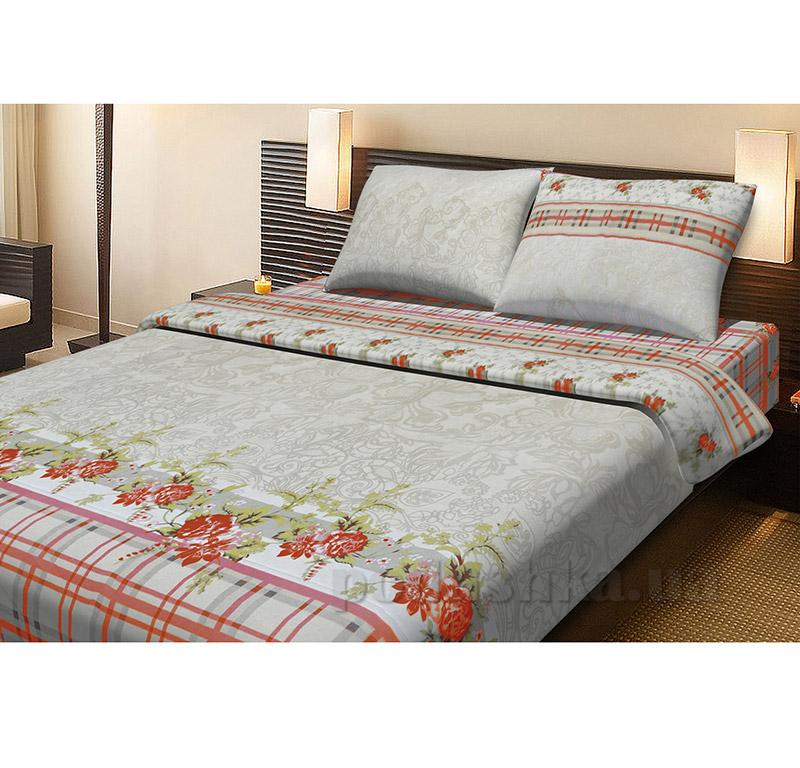 Комплект постельного белья Lotus Laura красный