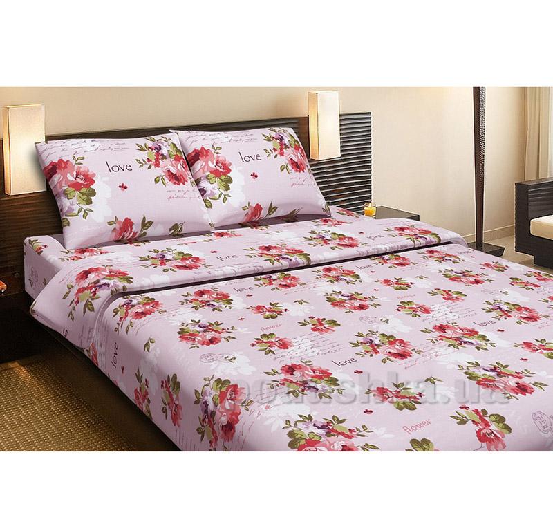 Комплект постельного белья Lotus Rose розовый