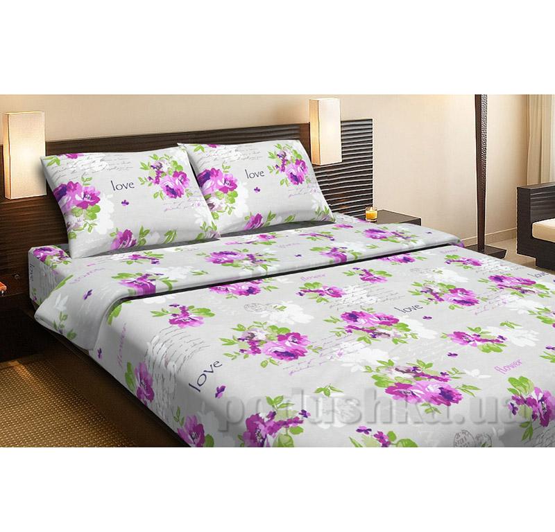 Комплект постельного белья Lotus Rose сиреневый