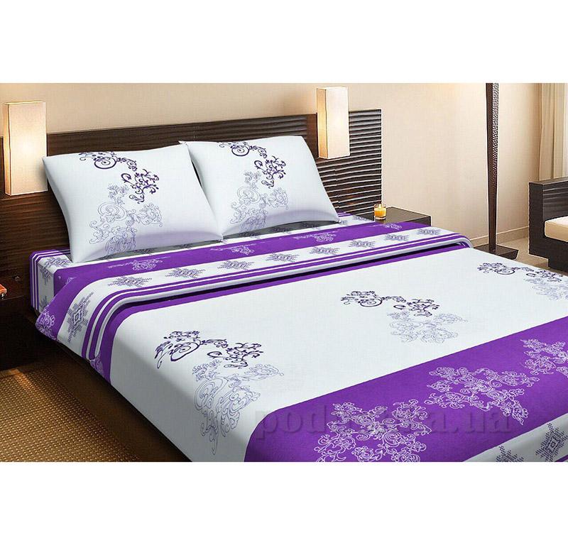 Комплект постельного белья Lotus Royal фиолетовый