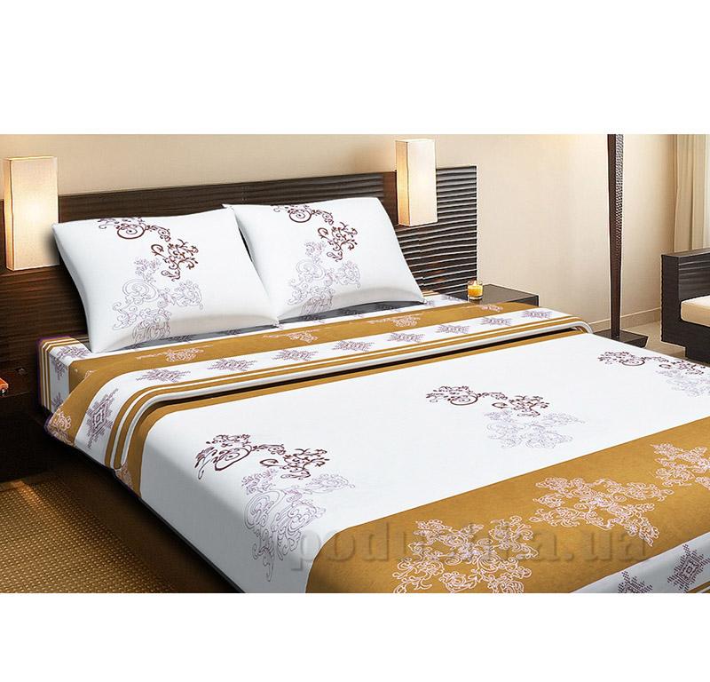 Комплект постельного белья Lotus Royal кофейный