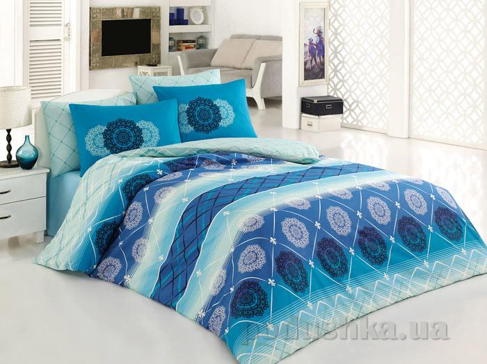 Постельное белье Majoli Oryantal V5 mavi