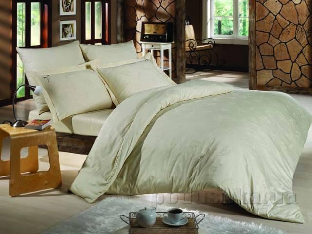 Постельное белье Mariposa Ecru бамбук-тенсел