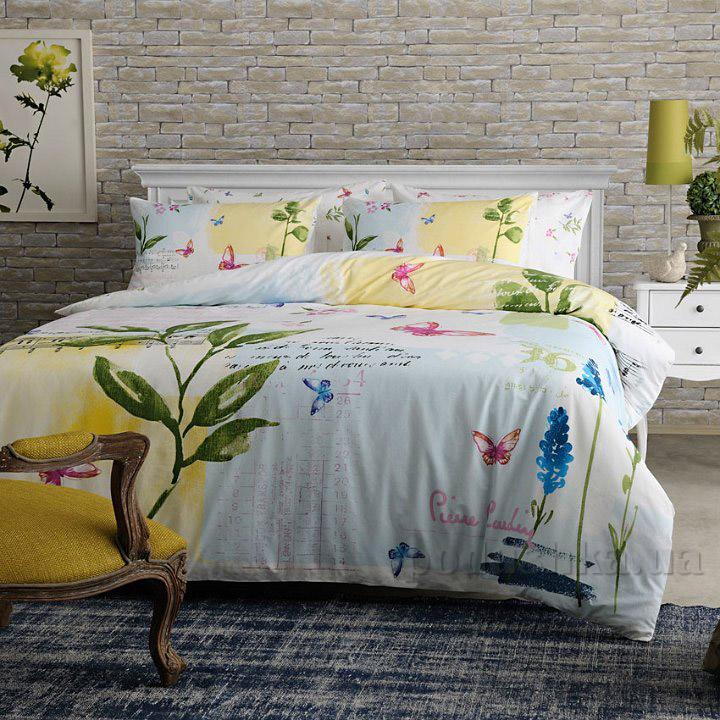 Комплект постельного белья Pierre Cardin Juana V01 зеленый