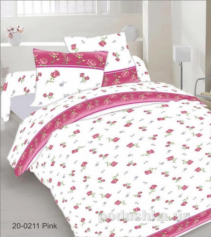 Постельное белье Руно фланель 20-0211 pink