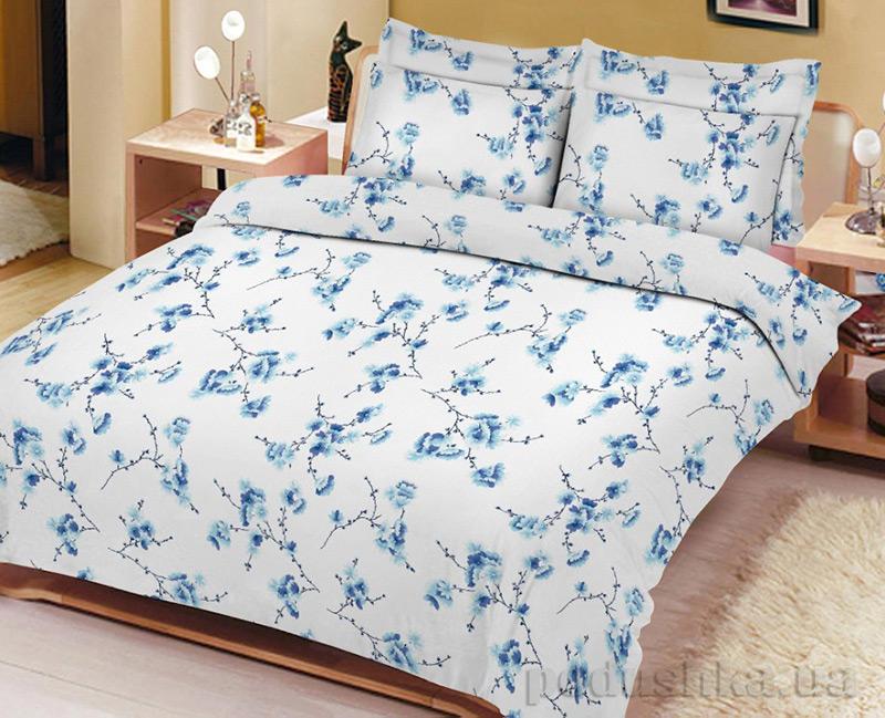 Постельное белье Сакура голубая Вилюта