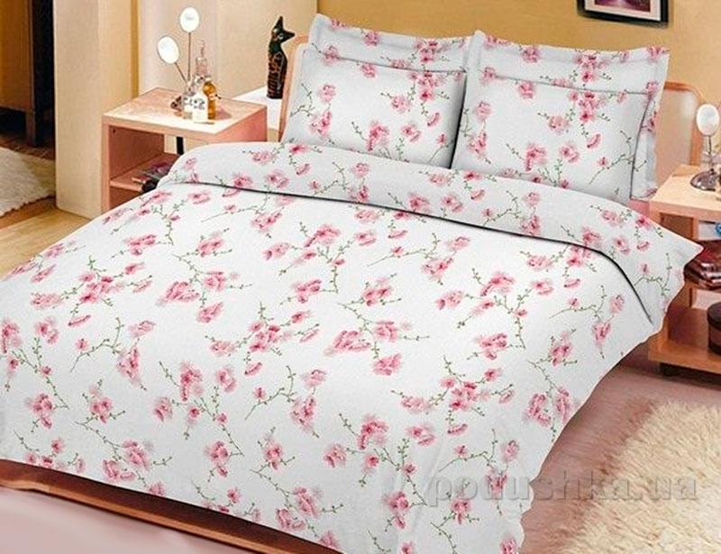 Постельное белье Сакура розовая Вилюта