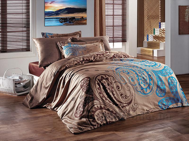 Комплект постельного белья SoundSleep Kahve Sal сатин