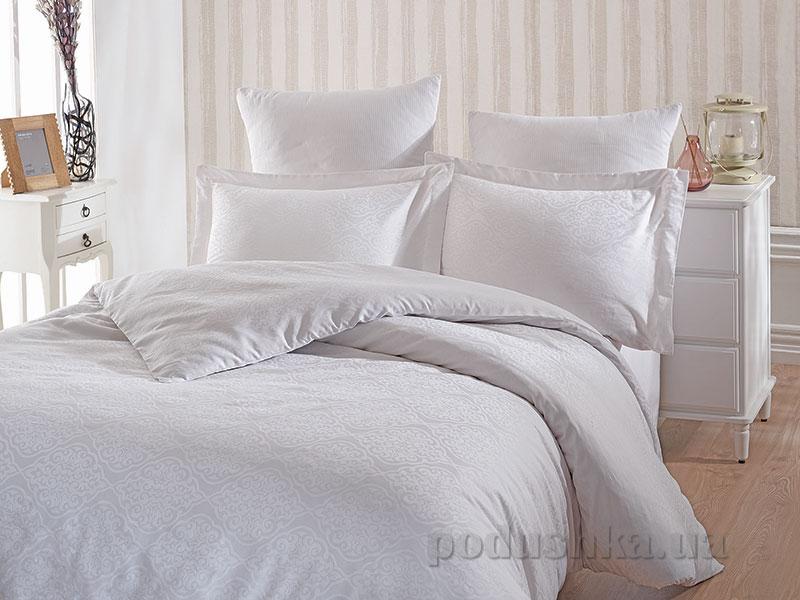 Комплект постельного белья SoundSleep White Terassa сатин-жаккард белый