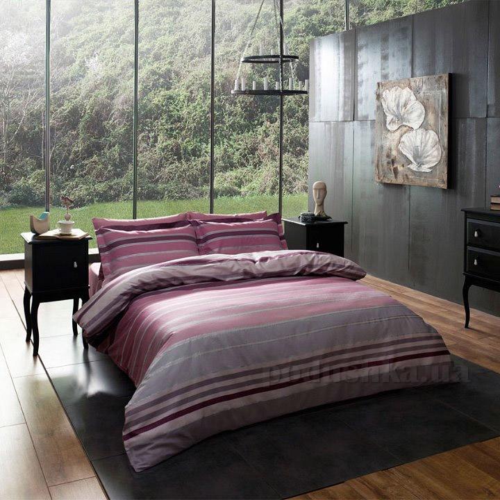 Постельное белье TAC Luxe Line V03 розовый