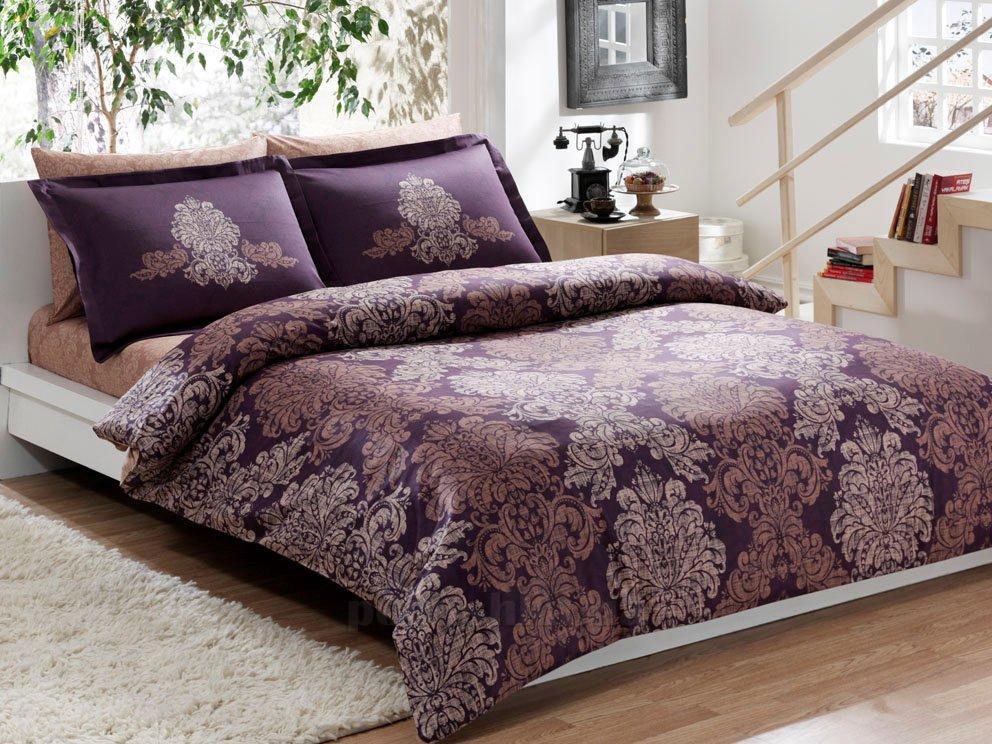Постельное белье TAC Pavona V07 фиолетовый
