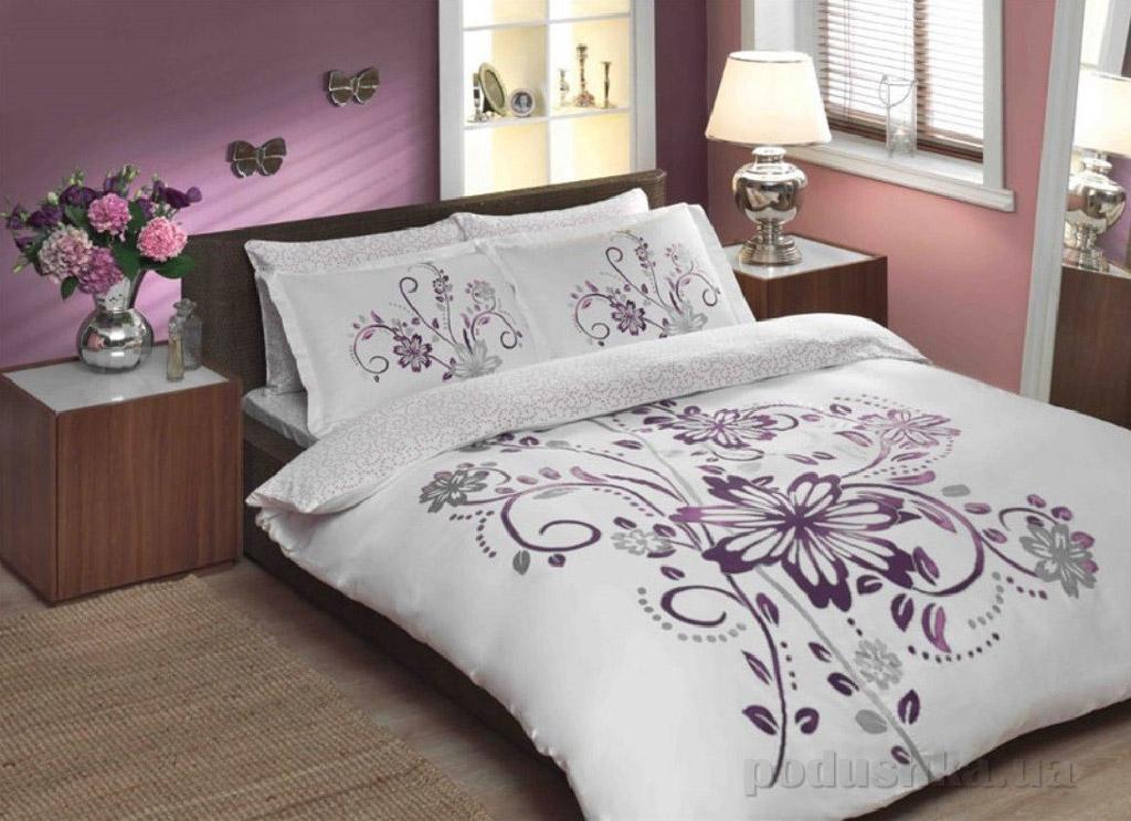 Постельное белье TAC Perry V03 фиолетовый