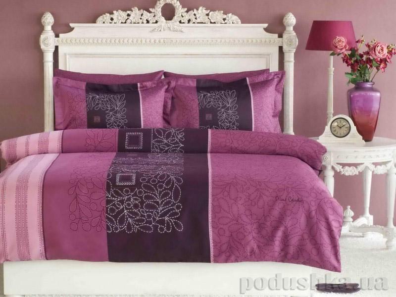 Постельное белье TAC PIERRE CARDIN Perla фиолетовый