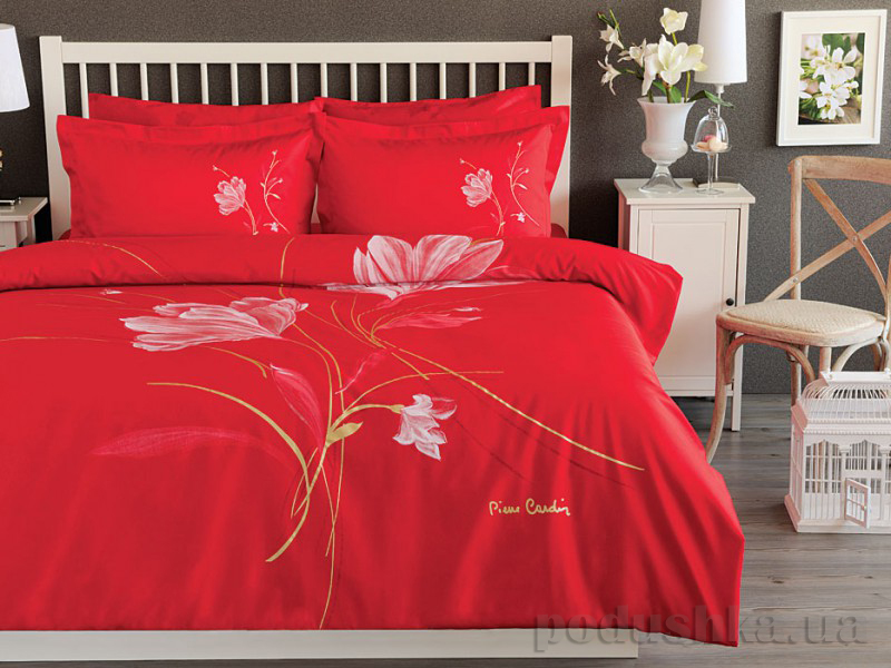 Постельное белье TAC PIERRE CARDIN Soulful  красный