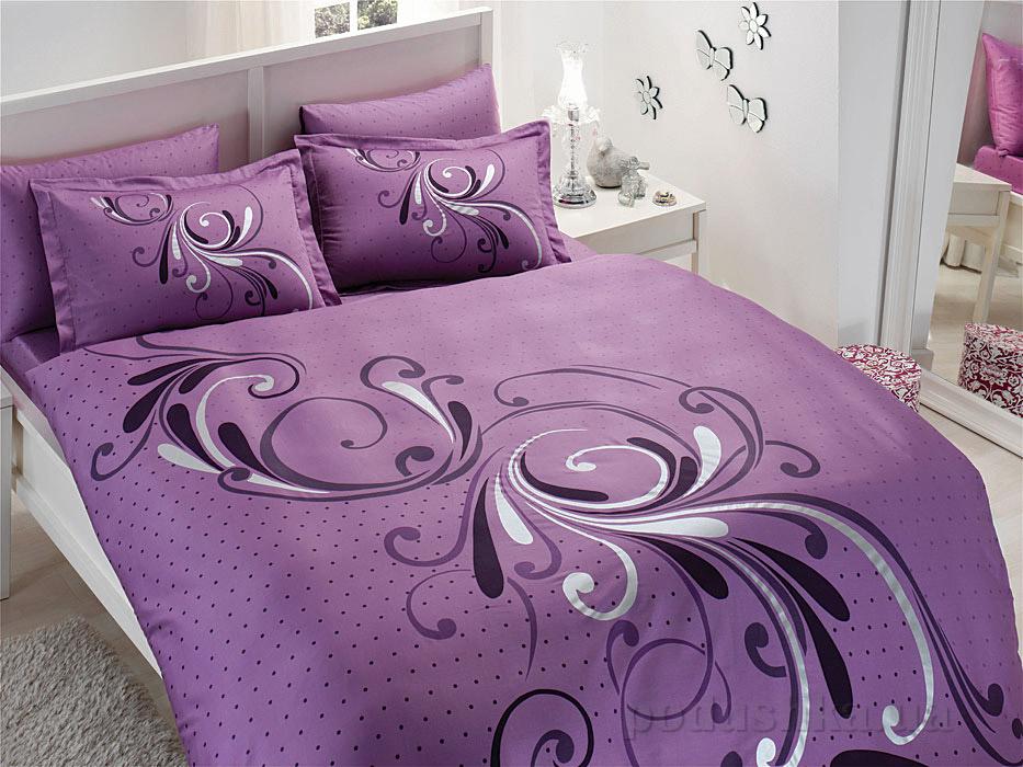Постельное белье TAC Tango V55 фиолетовый